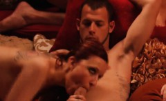couples swap partners and massive orgy in swing mansion