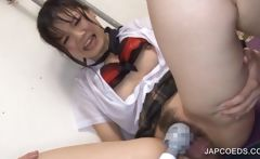 Asian schoolgirl gets cunt teased
