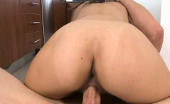 Captivating beauty is sucking dude's cock zealously