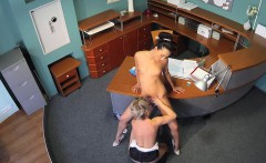 Fake doctor fucks patient and nurse on desk
