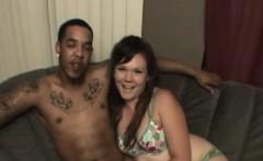Chubby Amateur Babe Rides Black Dick