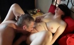 Adventurous wife blindfolded and fucked