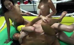 Teen Harlots Enjoy A Sex Party Inside Their Dorm