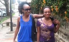 Tanya Kenya a good sucking pussy and tits