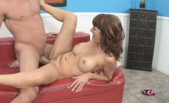 Insatiable housewife has a stranger taking care of her sexual desires