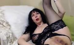 Silvana sexy MLF finger in ass