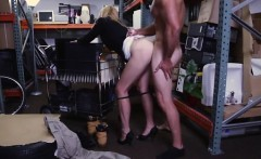 big ass hardcore hot milf banged at the pawnshop