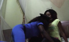 Super hot black lesbians enjoying each other