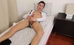 Horny amateur twink Johny needs to masturbate after school
