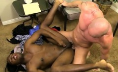 Nude black wrestling dvd gay JP gets down to service Mitch's