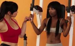 Asian teens Sarah and Mias lesbian sex