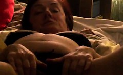 Penis deep-down the wife neck of this adult