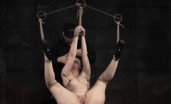 Tiedup submissive caned hard and nt torment