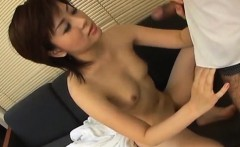 Yukino has hairy crack licked and fucked by dick she sucked