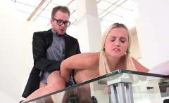 Sensual schoolgirl was seduced and penetrated by her older l