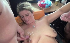 german step mom seduce to fuck by two young boy