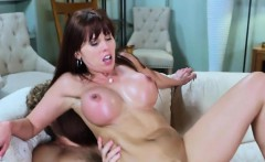 Busty Hoe Amber Chase Receives Double Dicking