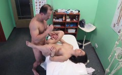 FakeHospital Hot Spanish patient gets fucked hard
