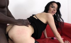 Milf anal fucked by big black cock in interracial
