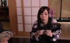 Rino Sakuragi deals cock in each of her tight love holes