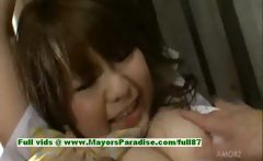 Meina innocent lovely asian girl who likes a wild orgy
