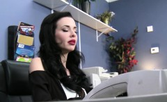 sexy secretaria tetona montada en la oficina