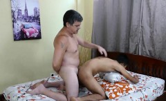 Daddy Fucks Asian Boy Arjo Raw