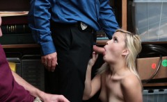 shoplyfter  watching my gf fuck the securityguard