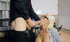 Hot Boss Christina Shine Gets Impaled By Hung Employee