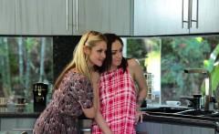 Sarah Vandella and Lily Jordan fucked by neighbor