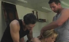 Beautiful Sylvie Taylor goes wild at threesome sex