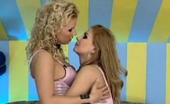 Ginger Jones and Dorothy Black pleasure one another