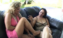 dirty milfs play with each others pussies
