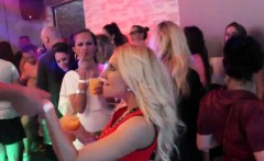 sexy cuties get absolutely wild and nude at hardcore party