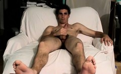 Male cumming open mouth and inside young gay Toe-Curling Cum