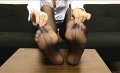 Jolies Ideal Feet In Stockings