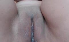 Teen brunette hidden camera masturbation