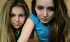 Two Teens On Webcam