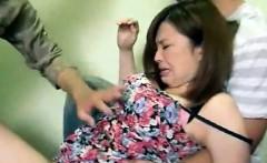 Girl Gets Groped By Men