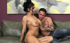 Lylith LaVey Takes a Huge Load on Her Huge Tits