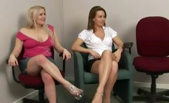 These sluts point them into the right direction to cum on