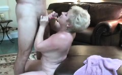 Threesome with a blonde and a brunette