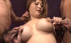 Yuki Touma sure knows how to handle a big cock