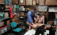 shoplifter get caught and fucked in the act