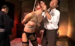 Big boobs Japanese tart gives head