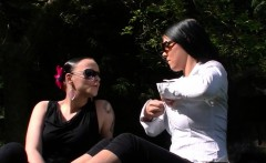 Public sweet sexy lesbos