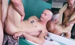 Caught Military Guy Jacking Off Gay Good Anal Training