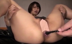 Asian amateur MILF in a homemade threesome