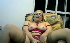 Big boobs from old mature granny