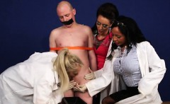 Cfnm doctors get cumshot
